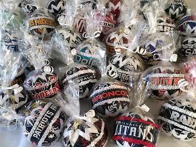 NFL Hanging Ornaments - Great unique gifts for your sports -