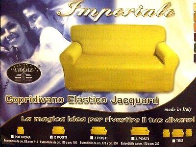 copri divano 2 posti elastico - NUOVO - colore BLU - fodera protezione divano