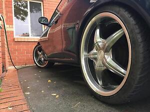 18inches beautiful alloy wheels with tyres Melbourne CBD Melbourne City Preview