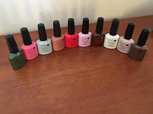 Genuine CND Shellac polishes Hamersley Stirling Area Preview