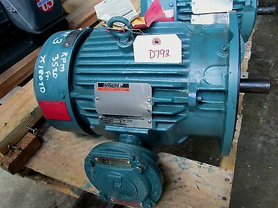Reliance Electric Duty Master Ac Motor Id 13yab94260a1 3 Hp 3520 Rpm New