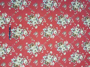 Tessuto policotone a fiori copriletto divano tavolo for Divano x cucina