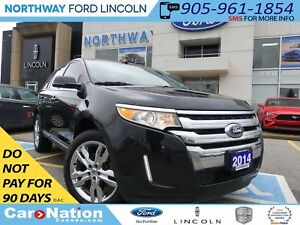 2014 Ford Edge LTD |NAV| HTD LEATHER | PANO ROOF | REAR CAM |AWD