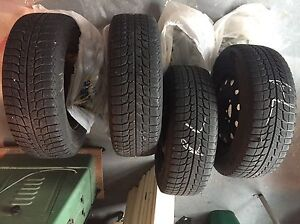 Winter tires 215/70 r16 with rims
