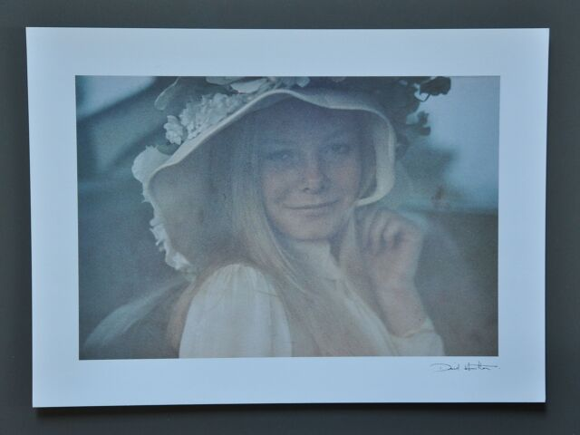 David Hamilton Limited Edition Photo 40x29cm Young Girl with hat Mädchen mit Hut