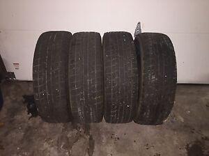 4 Yokohama winter tires 215/70R15
