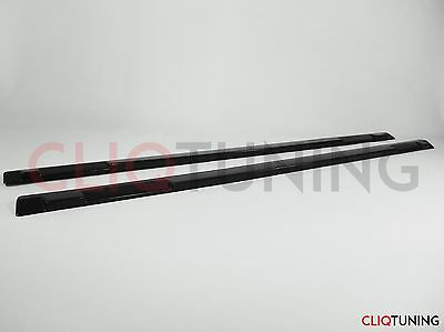 EVO 7 8 9 ADD-ON SIDE SKIRT EXTENSIONS 01-07 MITSUBISHI EVOLUTION (protection), used for sale  Shipping to United States