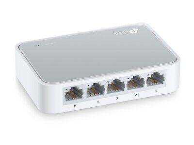 TP-Link TL-SF1005D 5-Port 10/100Mbps Fast Ethernet Unmanaged Desktop Switch
