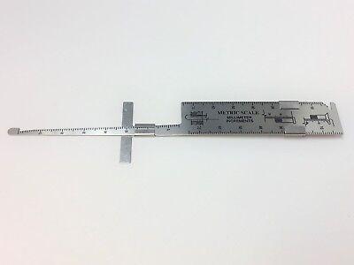 Cherry Lock Hi Lok Olympic Lok Rivet Grip Gauge With Slide Rule Ktc2-651 - New