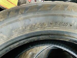 16in Bridgestone winter tire 215 60 16 95H Toyota Blizzak