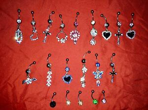Belly button rings brand new