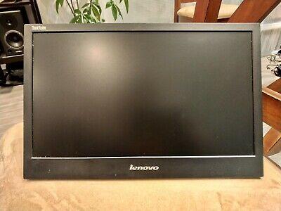 "Lenovo ThinkVision LT1421wD 14"" Portable USB LED DisplayLink Monitor w/ cover"