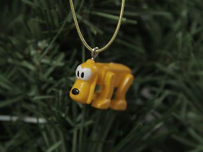 "Pluto, 'Block-Style' MICRO 1""  Disney Christmas Ornament"