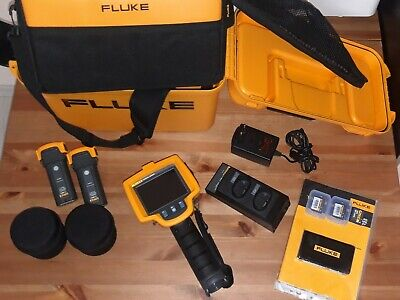 Fluke Ti32 320x240 Thermal Imaging Camera Extra Lenses Tele And Wide.