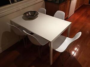 Eames Chairs + dining table Edgecliff Eastern Suburbs Preview