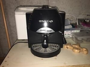 Delonghi espresso machine with steamer