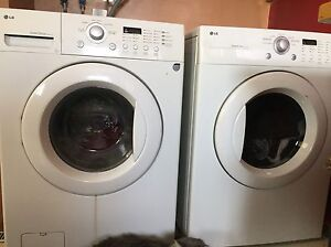 LG direct drive washer and sensor dryer