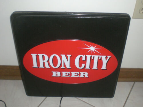 IRON CITY BEER SIGN -  VINTAGE