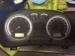 VW mk4 20th anniversary GTI cluster
