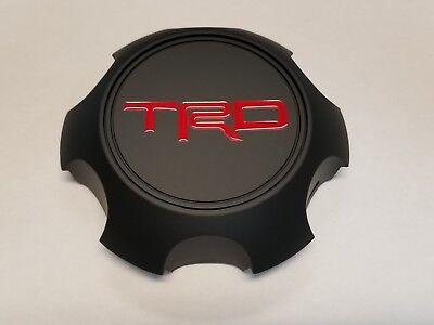 Black Center Cap (Toyota TRD Matte Black Center Cap Tacoma 4Runner FJ Cruiser PTR20-35111-BK )