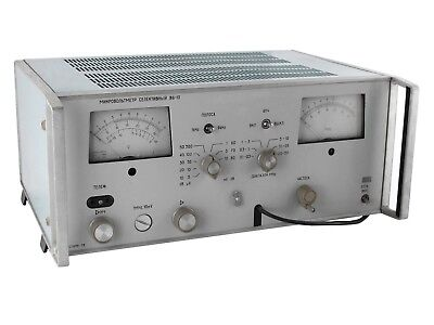 1mkv10mv 0.1-30mhz B6-10 Selective Microvoltmeter An-g Fluke Hp Agilent Genrad