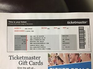 MGK TICKET LONDON MUSIC HALL London Ontario image 1