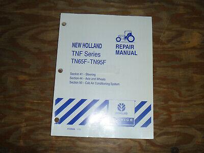 New Holland Tn65f Tn70f Tn75 Tractor Steer Air Axle Shop Service Repair Manual