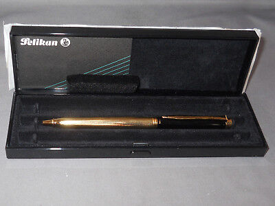 Pelikan K397 Black and Gold Ball Pen--NEW OLD STOCK