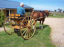 Imported Horse Cart Bruthen East Gippsland Preview