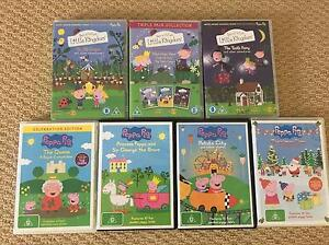 Ben & Holly's Little Kingdom and Peppa Pig DVDS Ormeau Gold Coast North Preview