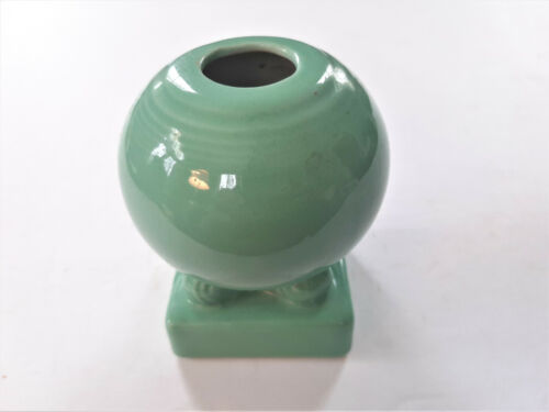 Vintage Fiesta Original Green Bulb Candle Holder HLC