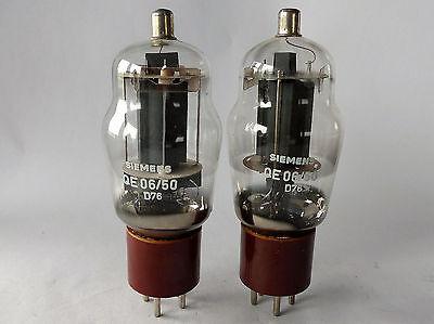 Paar CV124 / 807 / QE 06/50  Siemens, neuwertig
