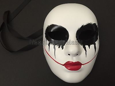 Anarchy movie mask The purge cross horror killer mask Halloween Costume party