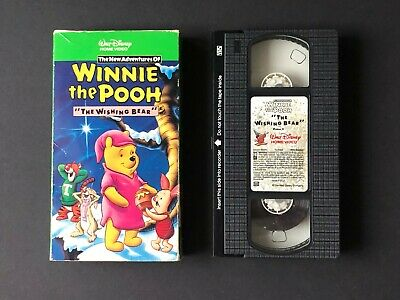 "Walt Disney's Winnie the Pooh ""The Wishing Bear"" (VHS 1991) Vol 2 w/ Hologram"