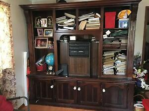 Large TV cabinet with display Gladstone Gladstone City Preview