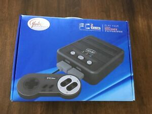 Two-in-one game system NES/SNES