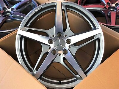 4x ORIGINAL NEU Mercedes-AMG GT GTS C190 19 / 20 Zoll Felgen Felgensatz gebraucht kaufen  Bielefeld