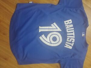 """Blue jays """"Bautista"""" bball jersey only $70"""