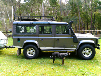 Land Rover Defender Limited Edition Tomb Raider.
