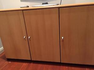 Timber credenza (sideboard) - near new Hunters Hill Hunters Hill Area Preview