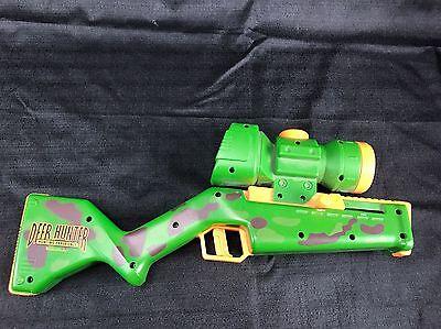 Deer Hunter hand held interactive electronic battery game Wizard Works Tiger Gun