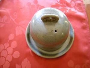 Australian Vintage Dyson Pottery Stoneware Ceramic Butter Dish