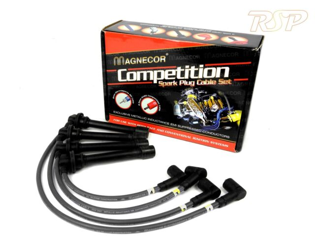 Magnecor 7mm Ignition HT Leads/wire/cable Saab 900 2.5i V6 DOHC 1993-1998 B2581