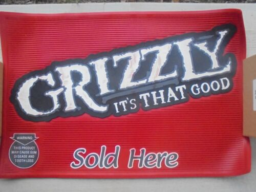NEW IN BOX GRIZZLY-ITS THAT GOOD-RED RUBBER FLOOR MAT