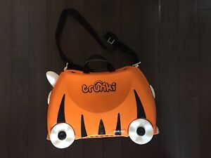 Trunki Ride ( bag)-On Suitcase in very good condition