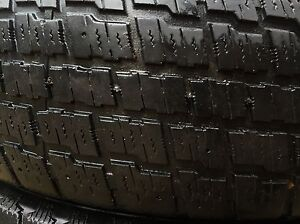 Full set of Cooper Winter Tires ($60 for all 4) (no rims) Kitchener / Waterloo Kitchener Area image 2