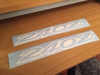 "2 PC Set Drift Machine Rocker Panel 24/"" 36/"" 42/"" sticker decal drift s13 s14 350z"