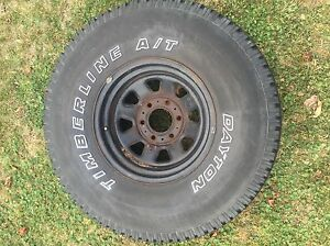 Dayton Timberline A/T tires and rims