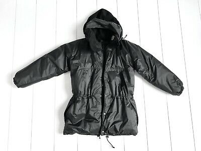 Kanuk Otarie Black Parka Style Winter Coat size 2 (S/M)