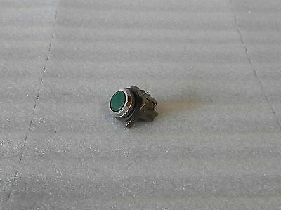 Izumi  Green Push Button, ABN, 41-10650, 1 Contact, Used,  Warranty